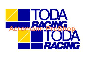 TODA Racing 6inch Decal (Style#1) x 2 pcs