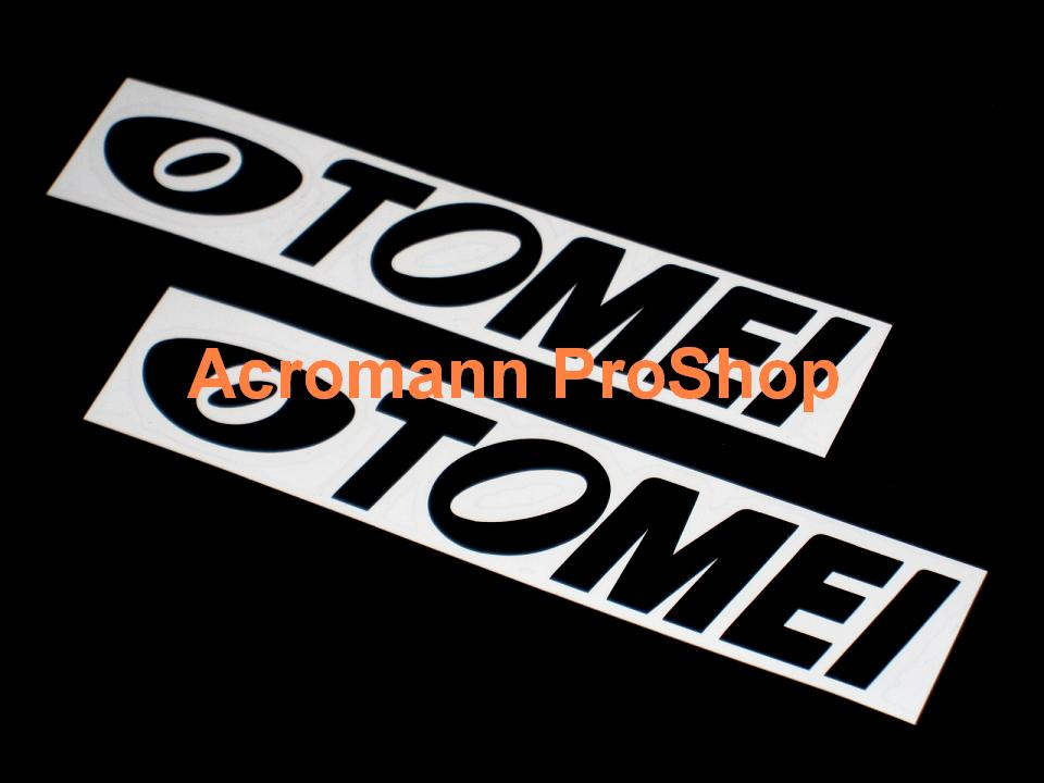 TOMEI 6inch Decal (Style#2) x 2 pcs