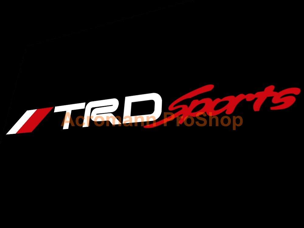TRD Windshield Decal (Style#16)