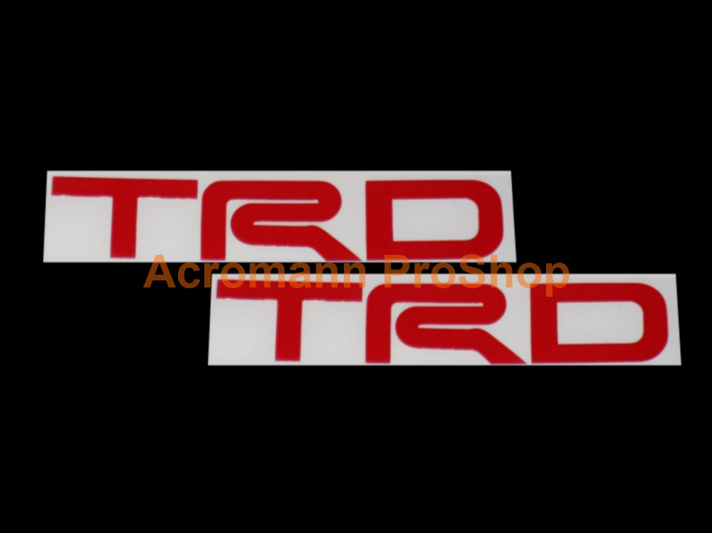 TRD 6inch Decal (Style#6) x 2 pcs