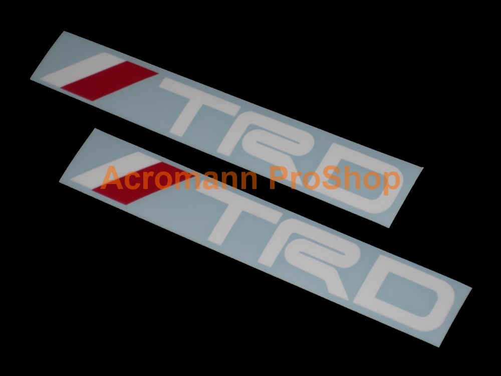 TRD 6inch Decal (Style#4) x 2 pcs