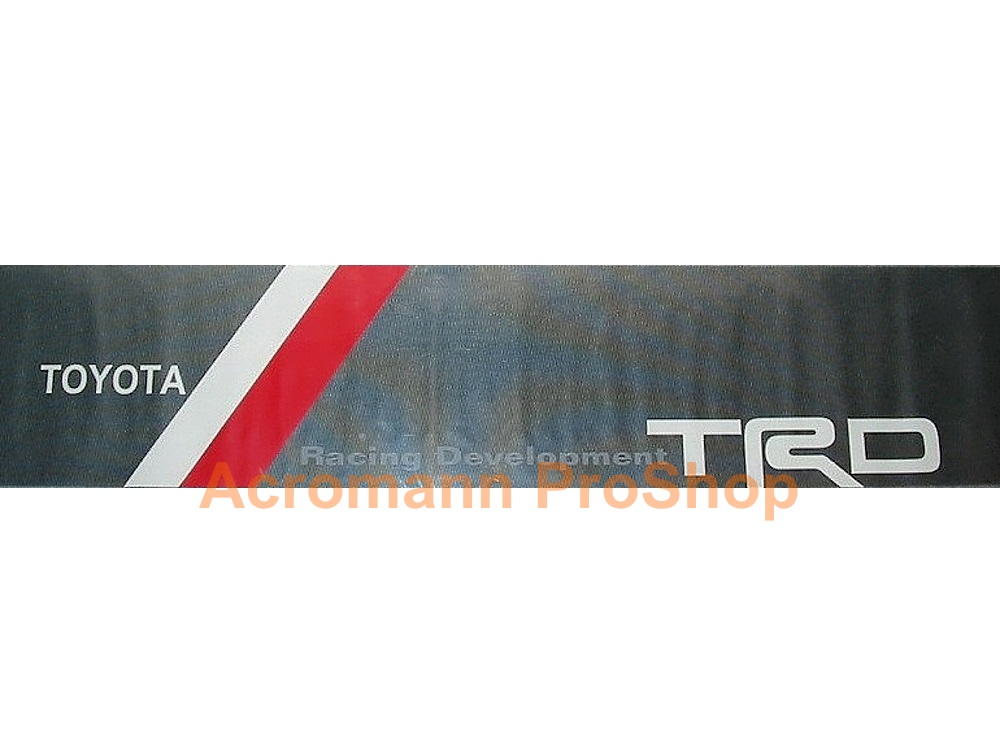 TRD dot-visor outside-type Windshield Decal