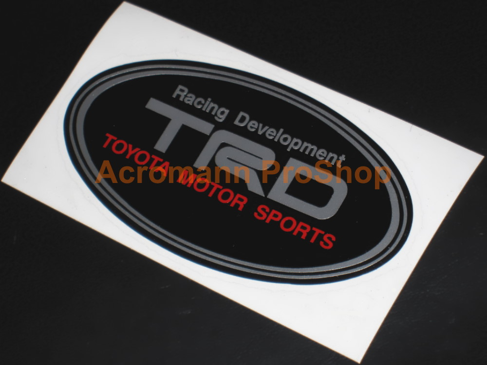 TRD 6inch Decal (Style#9) x 2 pcs