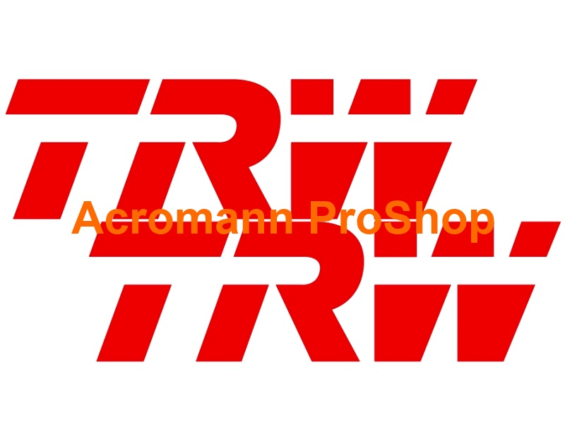 TRW 6inch Decal x 2 pcs