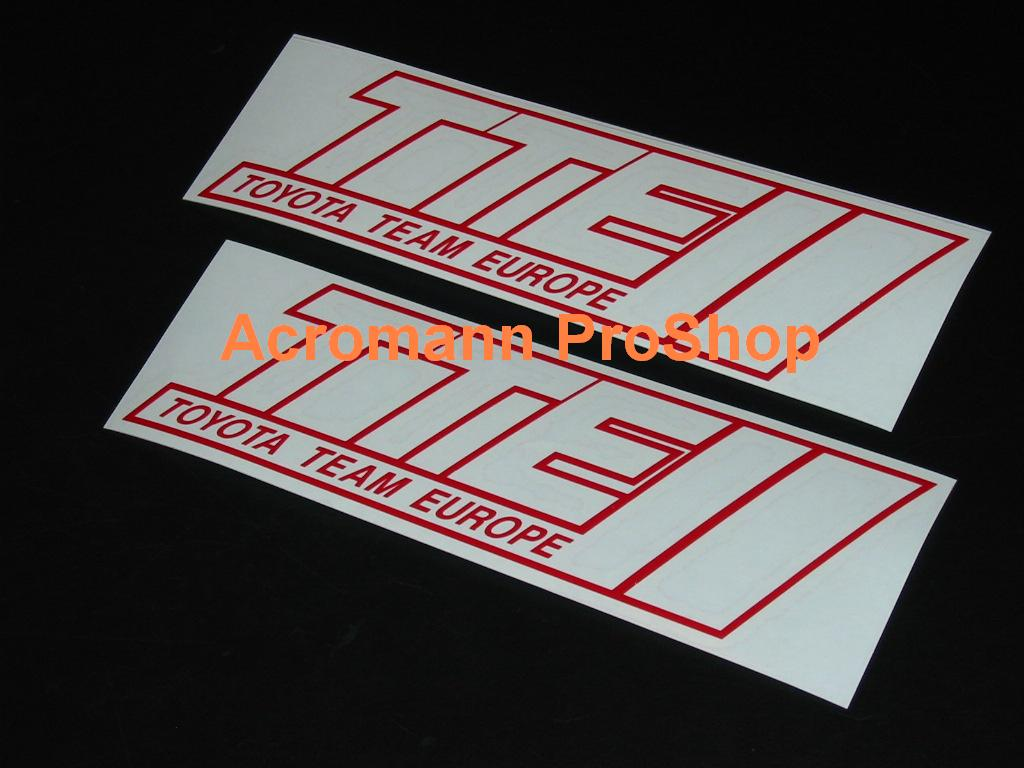 TTE 6inch Decal (Style#1) x 2 pcs