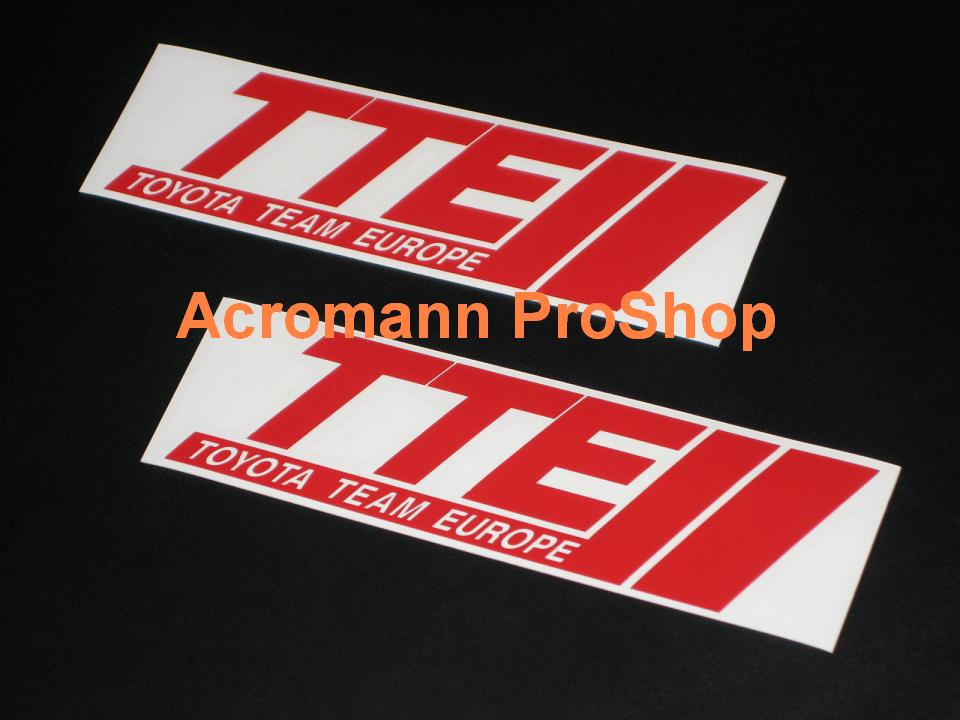 TTE 6inch Decal (Style#2) x 2 pcs