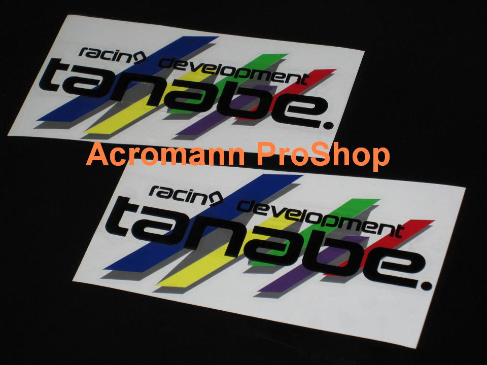 Tanabe 6inch Decal (Style#1) x 2 pcs