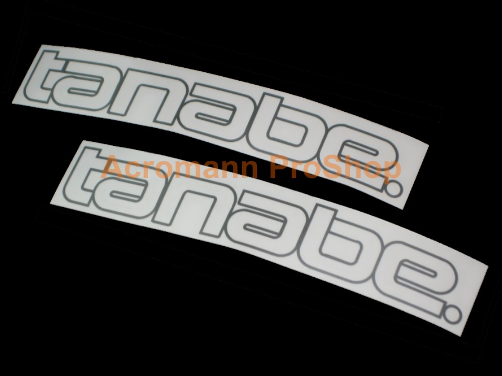 Tanabe 6inch Decal (Style#3) x 2 pcs