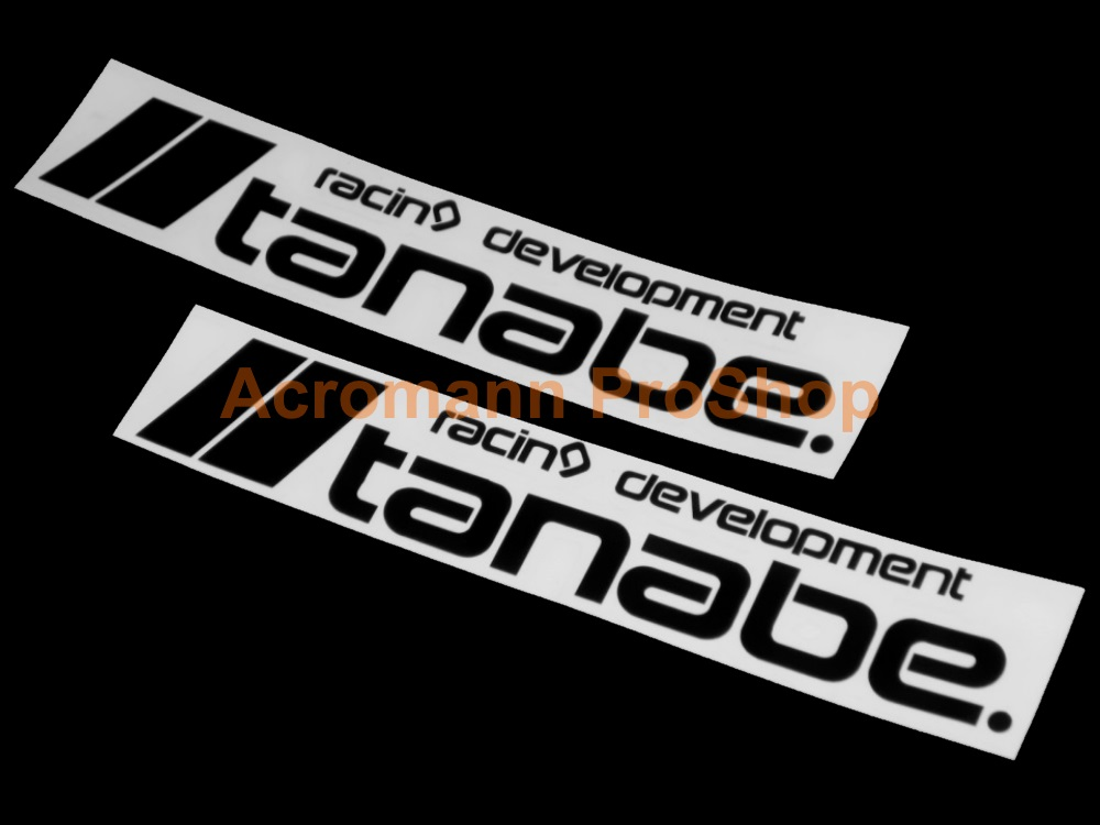 Tanabe 6inch Decal (Style#5) x 2 pcs