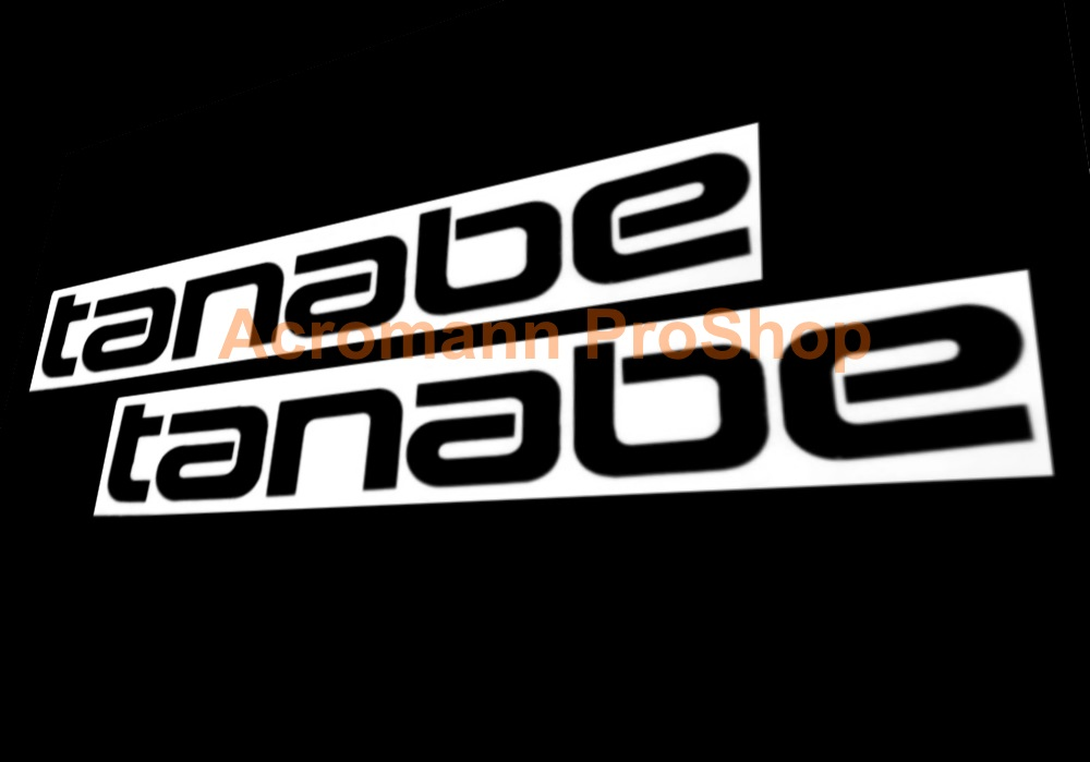 Tanabe 6inch Decal (Style#2) x 2 pcs