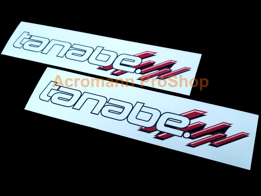 Tanabe 6inch Decal (Style#4) x 2 pcs