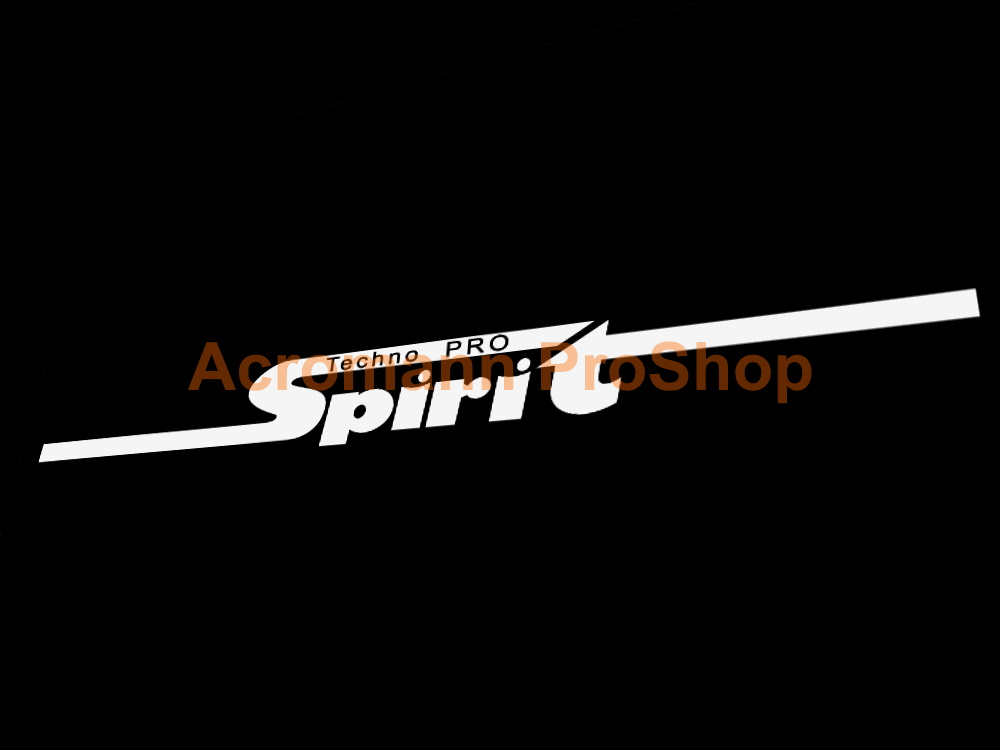 Techno Pro Spirit Windshield Windscreen Window Decal Sticker #2