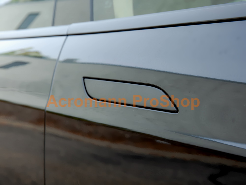 Tesla Model S Side Door Handle Vinyl Wrap Decals Sticker x 4pcs