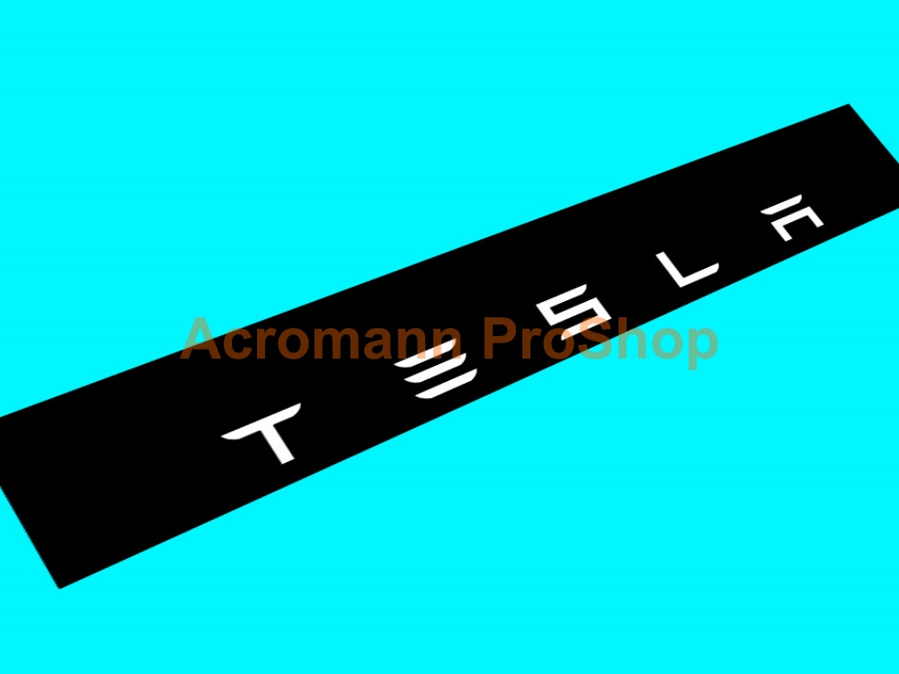 TESLA Windshield Decal (Style#2)
