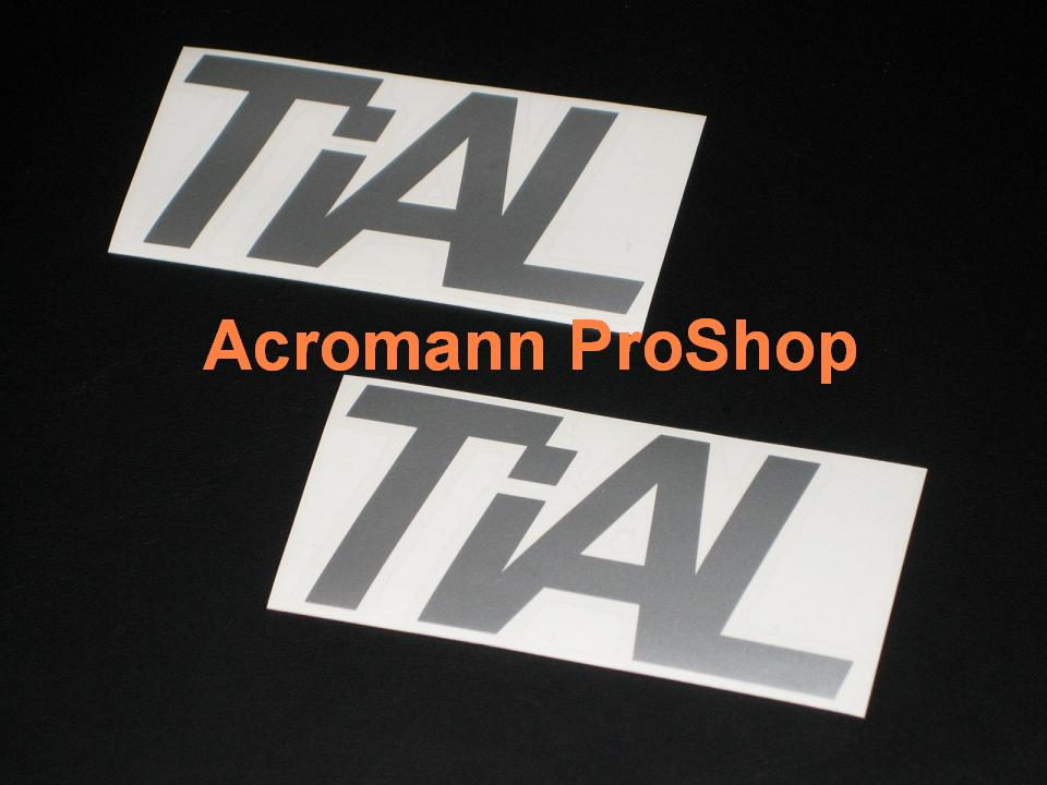 TiAL 4inch Decal x 2 pcs
