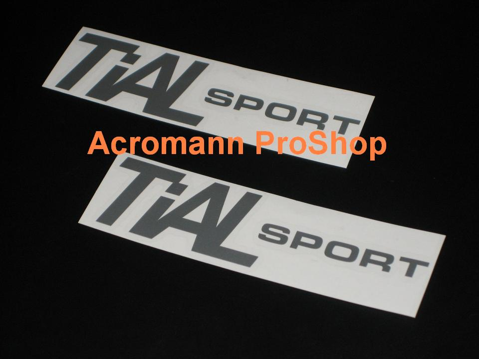TiAL Sport 6inch Decal x 2 pcs