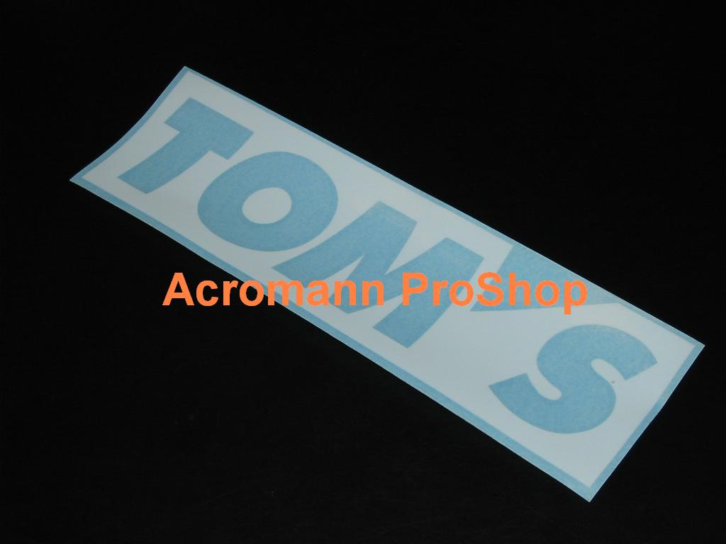 TOM'S 6inch Decal (Style#2) x 2 pcs