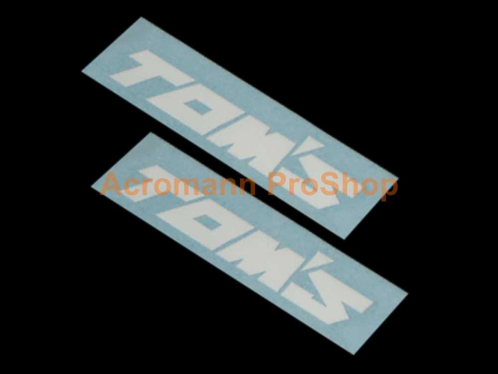 TOM'S 3inch Brake Caliper Decal x 2 pcs
