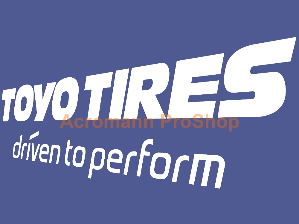 TOYO TIRES 6inch Decal (Style#3) x 2 pcs