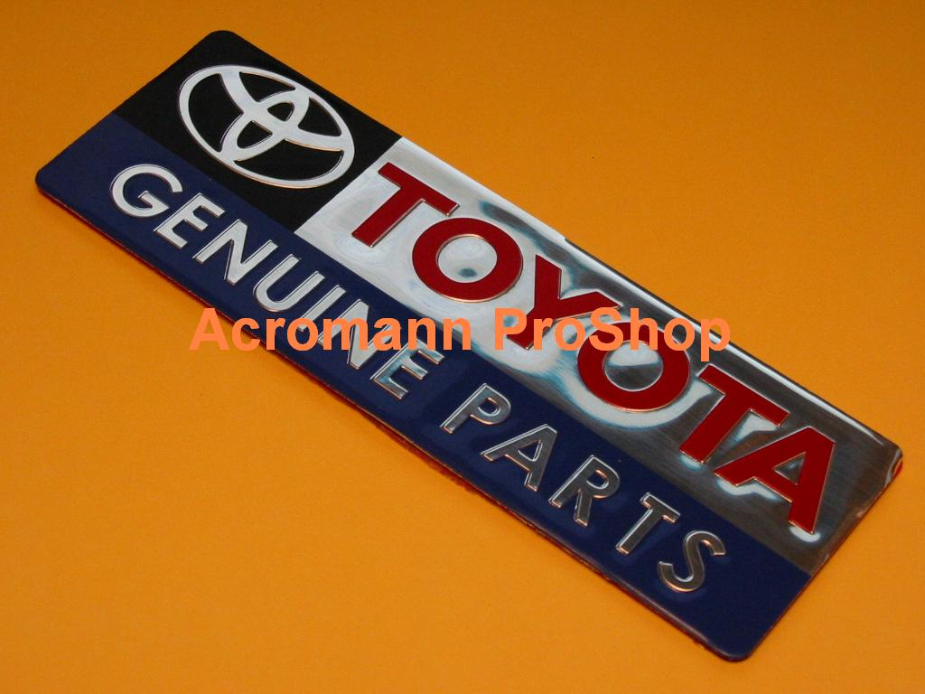 TOYOTA Genuine Parts Emblem