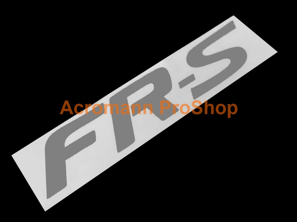 FR-S (FRS) 6inch Decal x 2 pcs