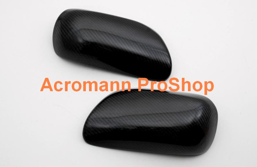 Toyota Yaris/Vitz/Echo (05-09) Carbon Fibre Mirror Covers