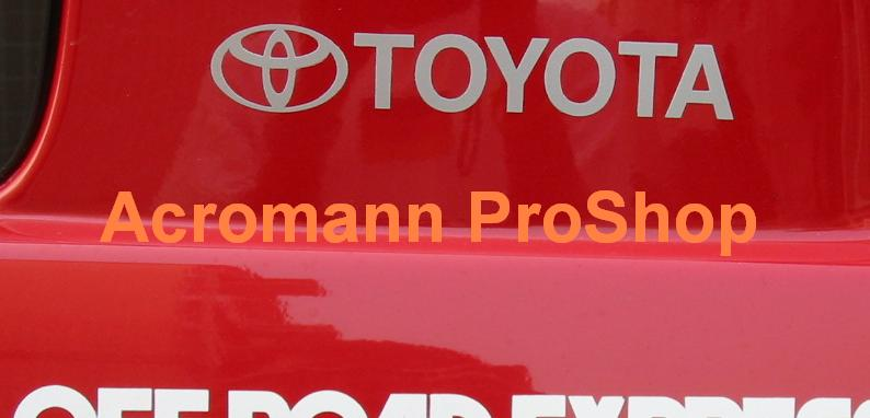 TOYOTA 6inch Decal (Style#1) x 2 pcs