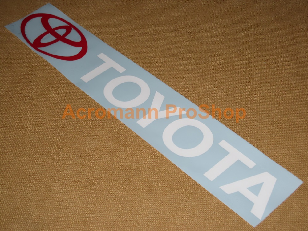 TOYOTA Windshield Decal (Style#3)