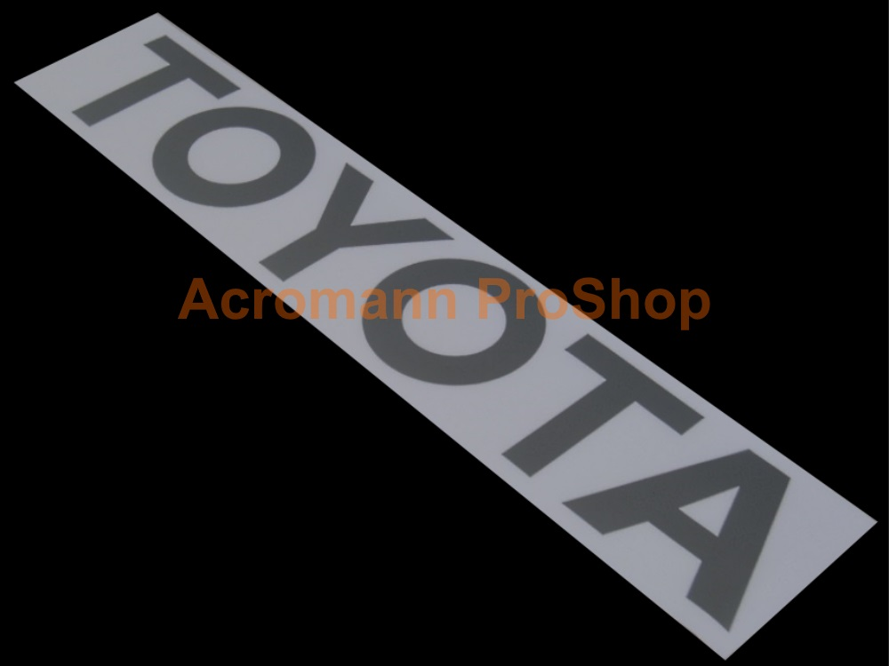 TOYOTA Tailgate / Windshield Decal (Style#4)