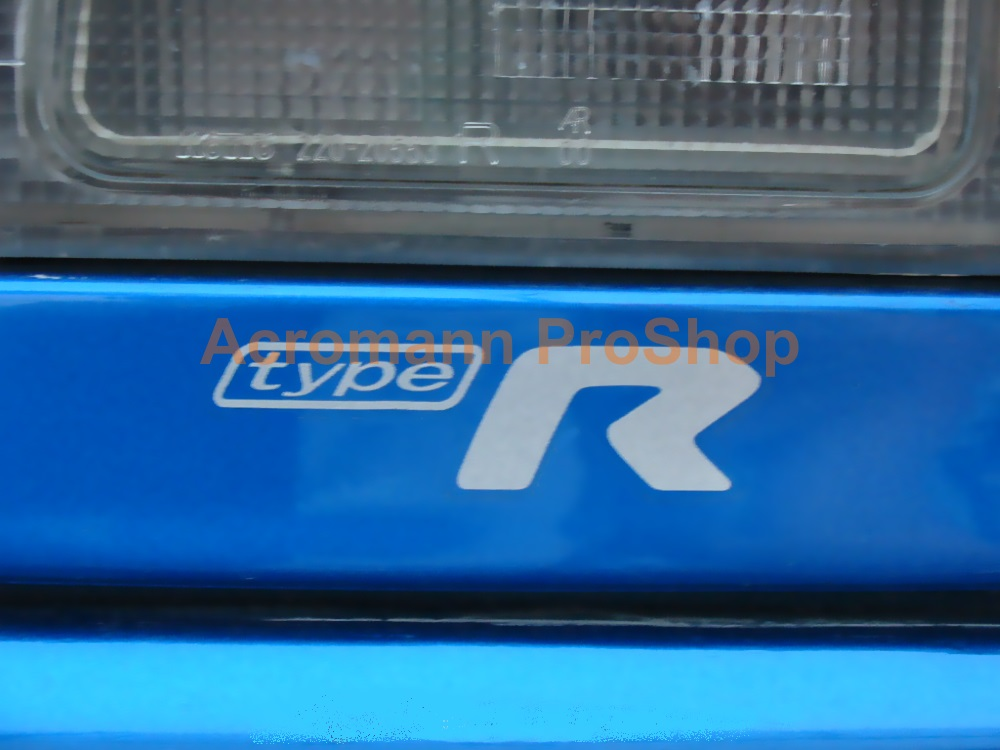 Type R (typeR) 3inch Decal x 2 pcs