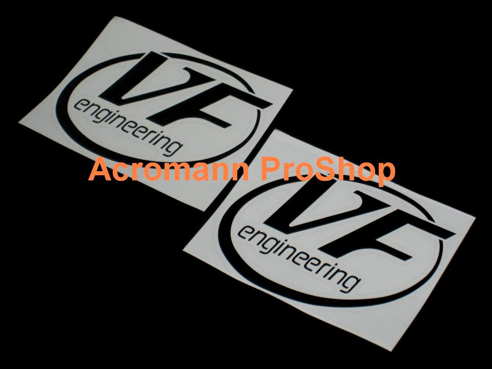 VF engineering 5inch Decal (Style#1) x 2 pcs