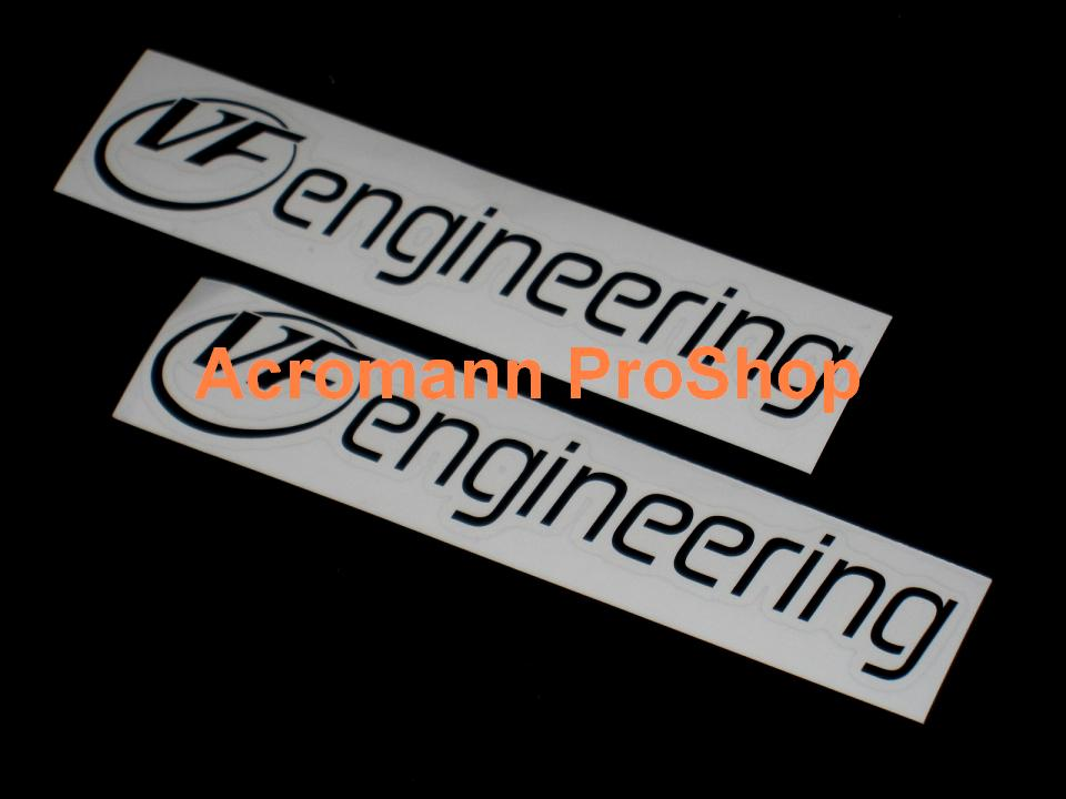 VF engineering 6inch Decal (Style#2) x 2 pcs