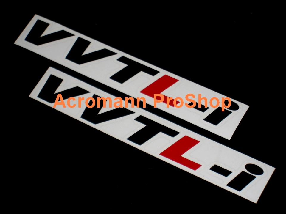 VVTL-i 6inch Decal x 2 pcs