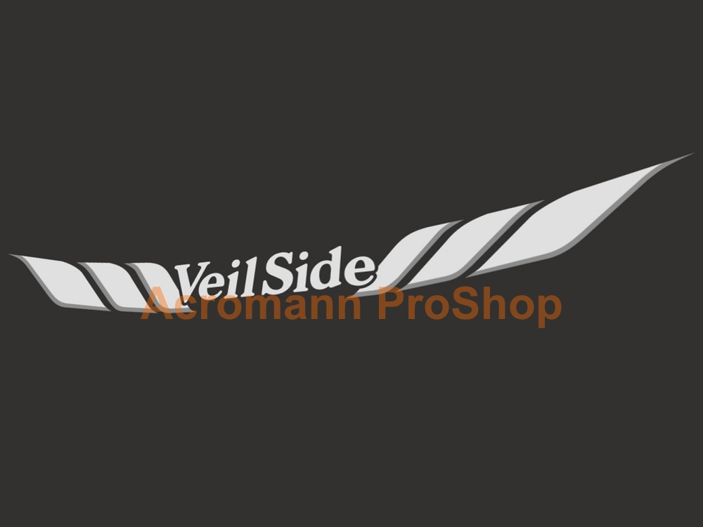 Veilside Windshield Decal (Style#2)