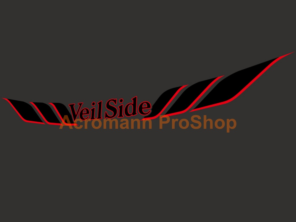 Veilside Windshield Decal (Style#3)