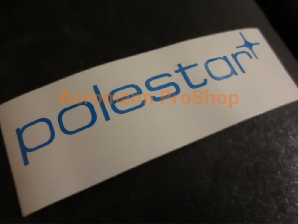 Volvo polestar 6inch Decal (Style#1) x 2 pcs