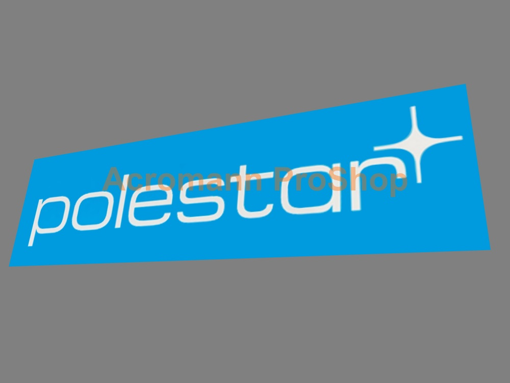 Volvo polestar 6inch Decal (Style#3) x 2 pcs