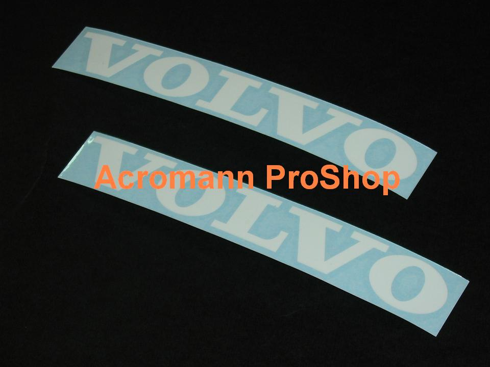VOLVO 6inch Decal (Style#1) x 2 pcs