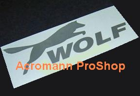 Wolf 6inch Decal x 2 pcs