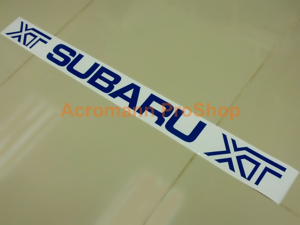 Subaru XT Windshield Decal (Style#1)