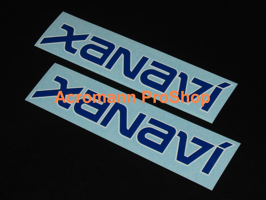 XANAVI 6inch Decal x 2 pcs