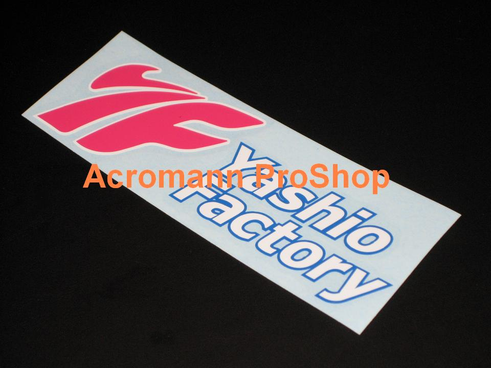 Yashio Factory 6inch decal (Style#2) x 2 pcs
