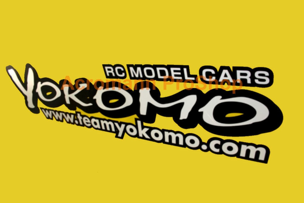 Yokomo 6inch Decal x 2 pcs