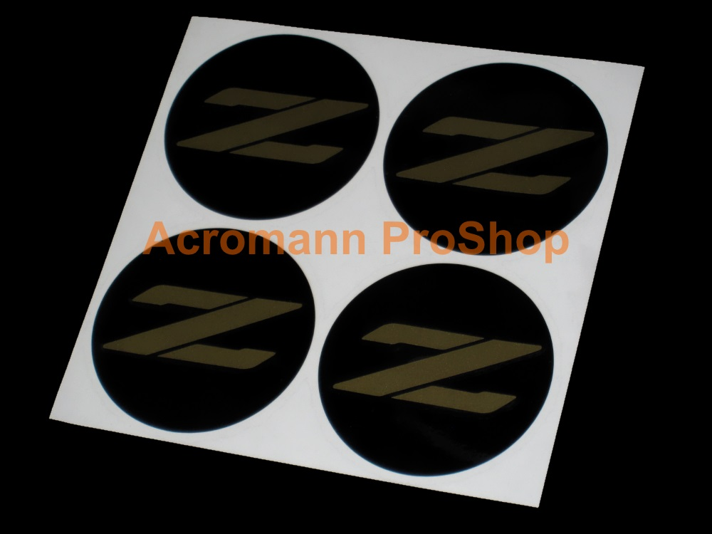 Fairlady Z 2.2inch Wheel Cap Decal (Style#4) x 4 pcs