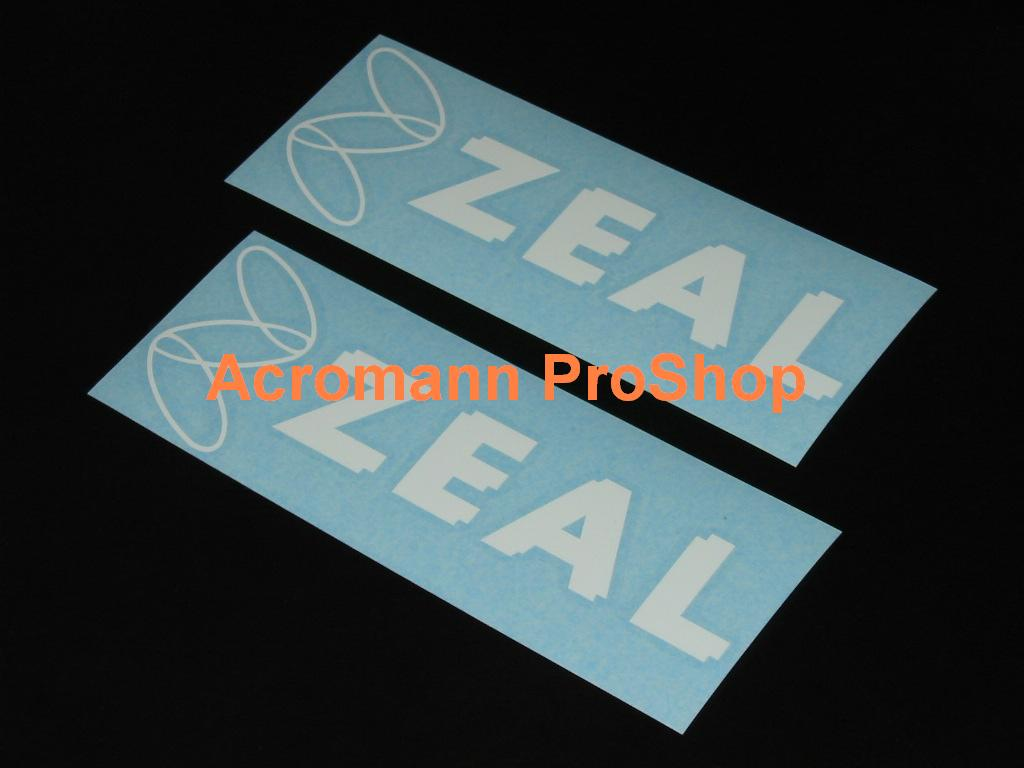 ZEAL (Endless) 6inch Decal x 2 pcs
