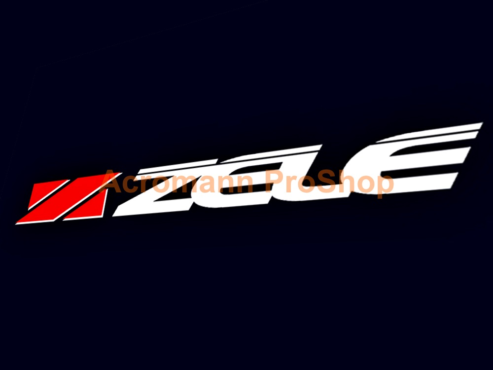 Zele Performance 6inch decal (Style#1) x 2 pcs