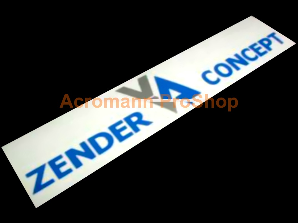 Zender 6inch Decal (Style#2) x 2 pcs