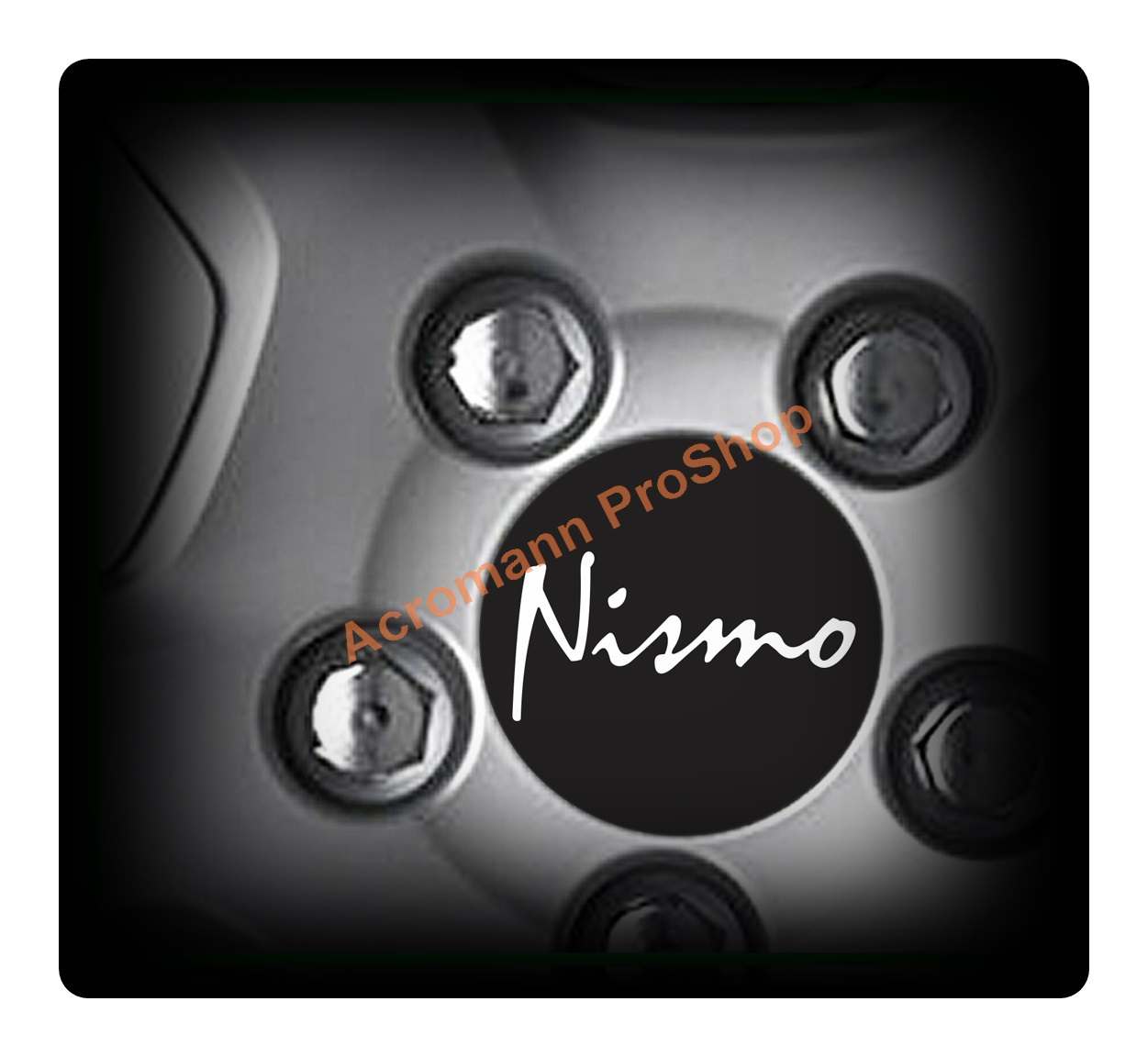 NISMO Printed 2.2inch Wheel Cap Decal (Style B) x 4 pcs