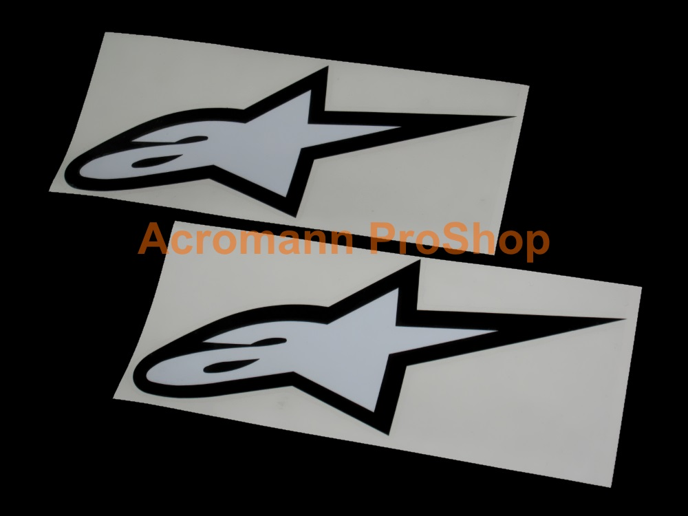 Alpinestars Astar 5inch Decal (Style#2) x 2 pcs