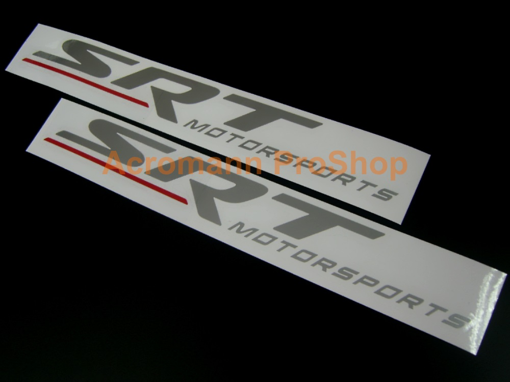 Dodge SRT Motorsports 6inch Decal x 2 pcs